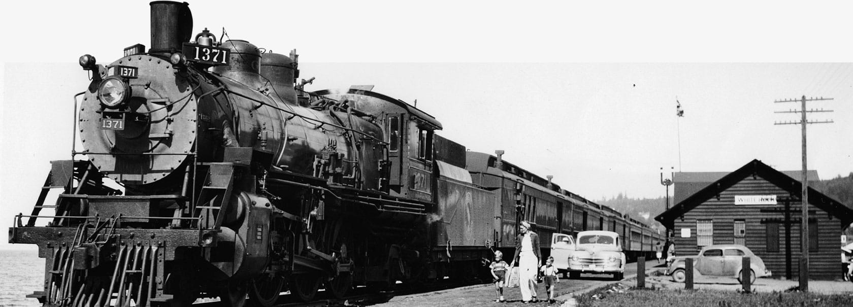 White Rock Museum & Archives train