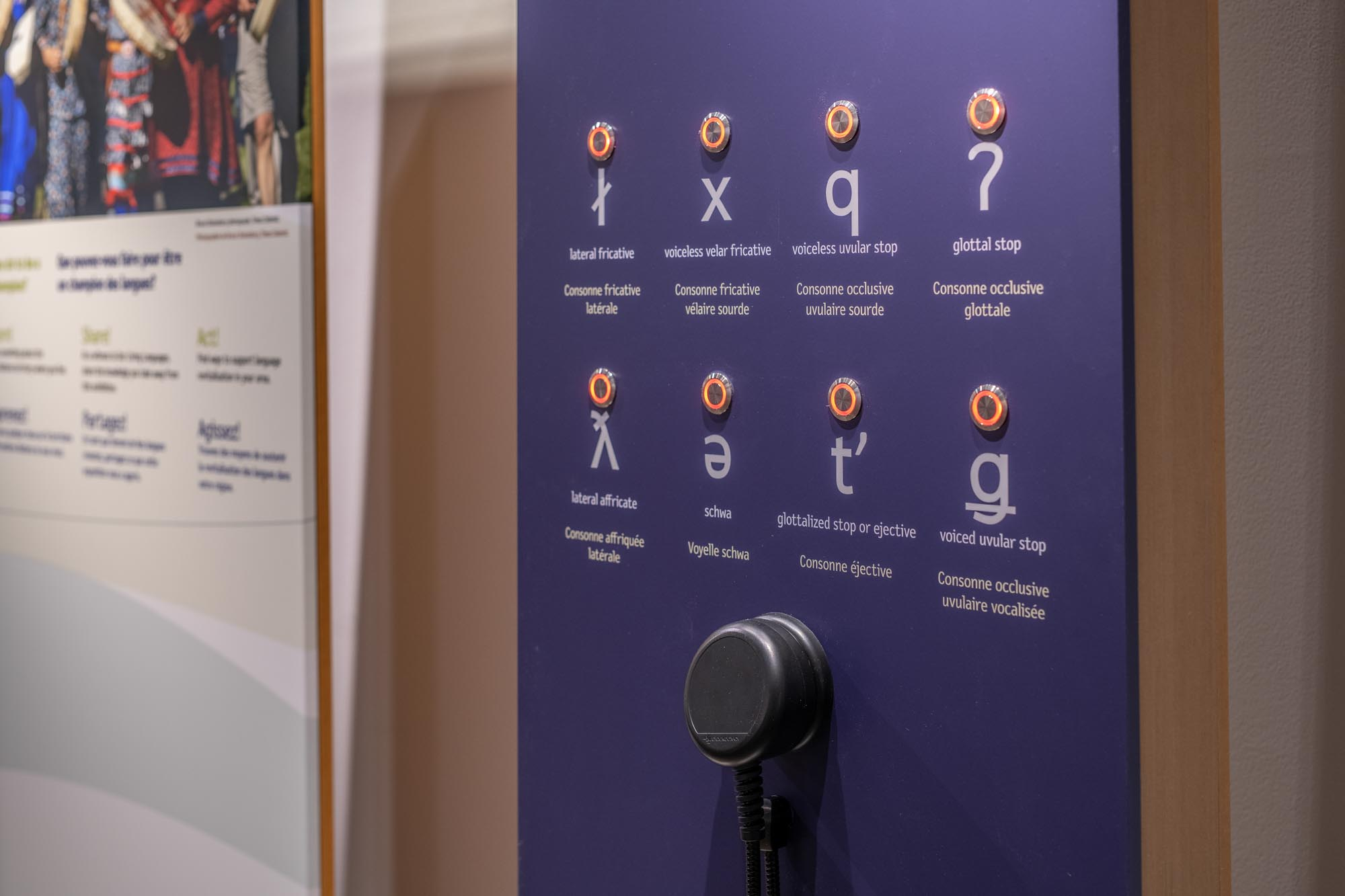 Our Living Languages: travelling exhibition