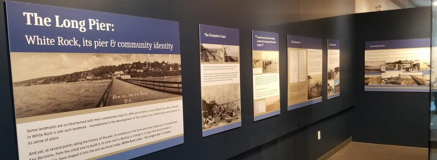 The Long Pier exhibit